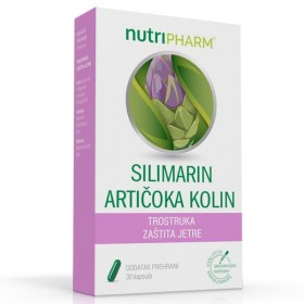Nutripharm Silimarin artichoka choline for liver health