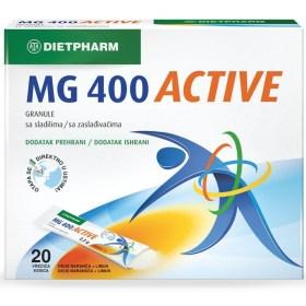 Dietpharm Magnezij MG 400 ACTIVE granule