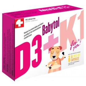 Babytol D3 + K1 + FREE Babytol DHA Omega