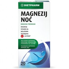 Magnesium Night capsules for a restful night's sleep