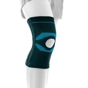 Elastic knee bodice with Actius patella opening
