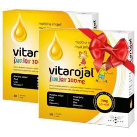 Vitarojal Junior DUO matična mliječ ampule 300mg