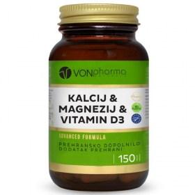 VONpharma Kalcij Magnezij Vitamin D3