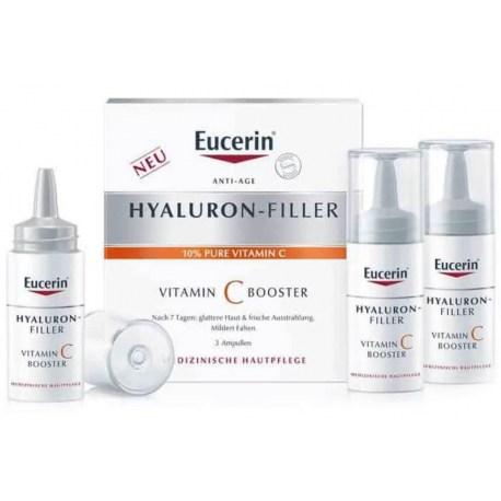 Eucerin Hyaluron-Filler Vitamin C booster 3x8ml