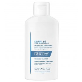 Ducray KELUAL DS shampoo to reduce dandrrinke and itchy scalp
