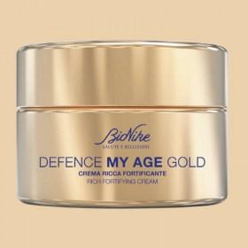 BioNike DEFENCE MY AGE GOLD Bogata krema za zrelu kožu 50ml