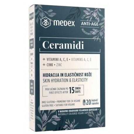 Medex Ceramidi kapsule za bolju hidrataciju i elastičnost kože