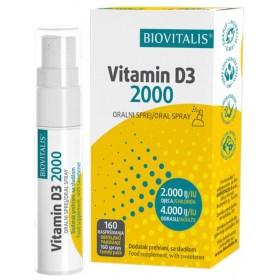 Biovitalis Vitamin D3 2000 20ml