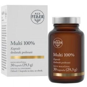 m.e.v. feller Multi 100% Multivitamins and Capsule Minerals