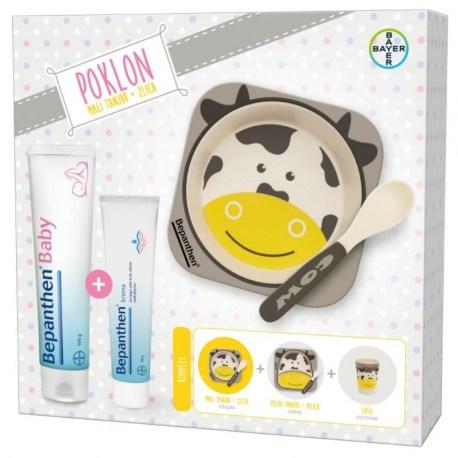 Bepanthen baby mast + Bepanthen krema + dječji pribor za jelo