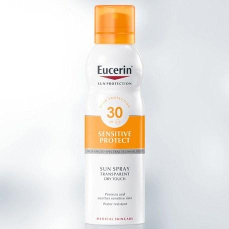 Eucerin Sensitive Protect Dry Touch sprej SPF 30 200ml