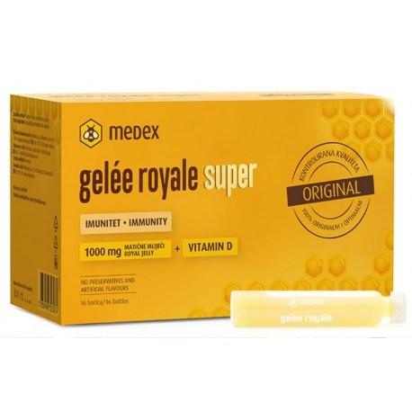 Medex gelee royale 1.000mg Super ampule 16x9ml