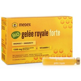 Medex BIO Gelée royale Forte 1.500 mg matične mliječi ampule, 10x9ml
