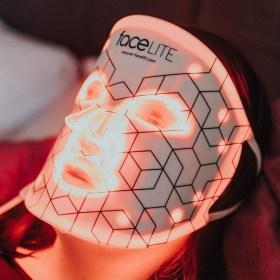 Rio faceLITE Anti-age LED maska za regeneraciju i pomlađivanje kože lica