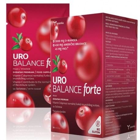 Yasenka Uro Balance FORTE za urinarne infekcije