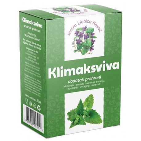 Klimaksviva čaj pomaže u predmenopauzi, postmenopauzi i tijekom menopauze