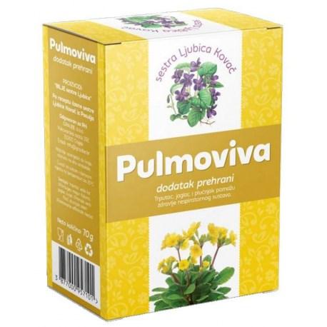 Pulmoviva čaj pomaže kod svih plućnih tegoba