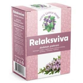 Relaksviva čaj doprinosi smirenju, opuštanju i smanjenju napetosti