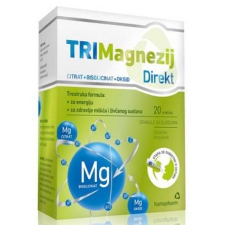 Hamapharm TRIMagnezij Direkt 20 vrećica