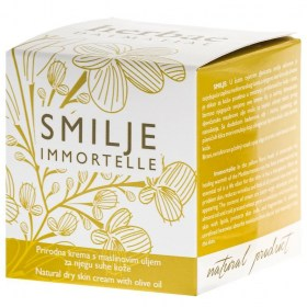 SMILJE prirodna krema za njegu suhe kože 50ml