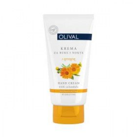 Olival Hand & Nail Moisturizer with Marigold, 50ml