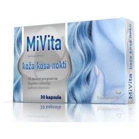 Hamapharm MiVita leather hair nails, 30 pcs.