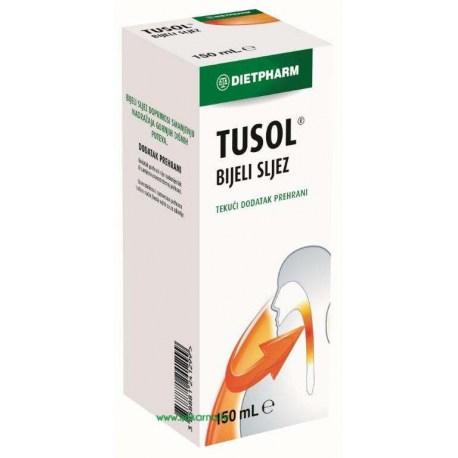 Dietpharm Tusol bijeli sljez sirup, 150ml