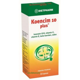 Dietpharm Koencim 10 plus kapsule, 20 kom.