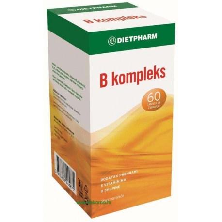Dietpharm B kompleks tablete za žvakanje, 60 kom.