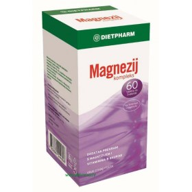 Dietpharm Magnezij kompleks tablete za žvakanje, 60 kom.