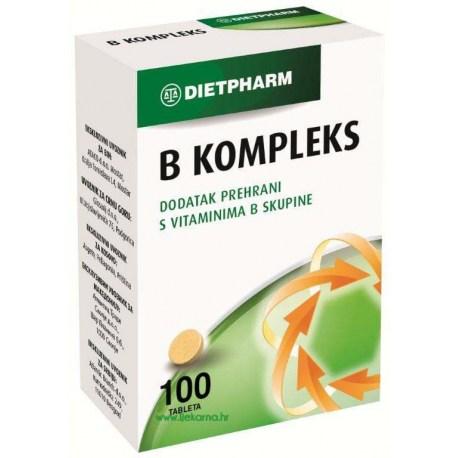 Dietpharm B kompleks tablete, 100 kom.