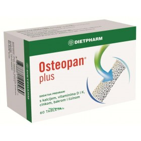 Dietpharm Osteopan plus tablete, 60 kom.