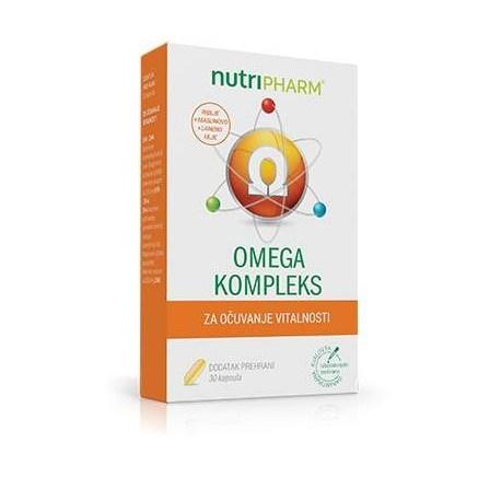 Nutripharm Omega kompleks kapsule, 30 kom.
